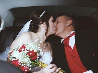 El matrimonio de Patricia y Hugo