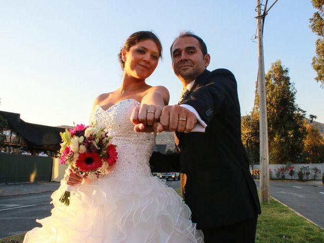 El matrimonio de Catalina y Néstor
