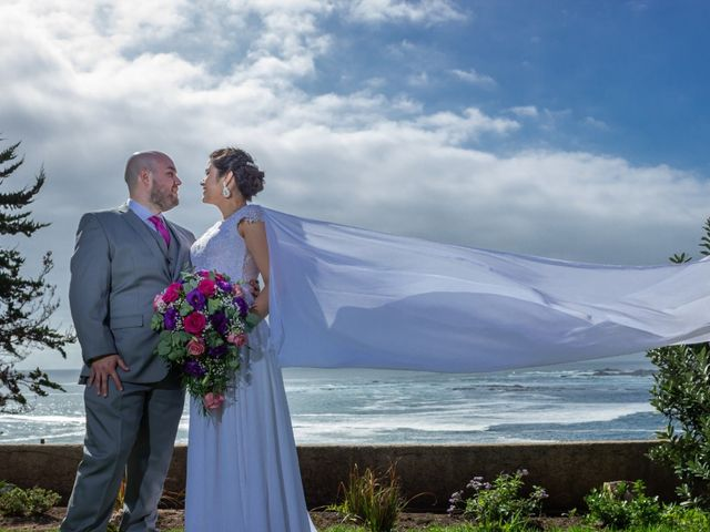 El matrimonio de Carolina y Allan