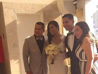 El matrimonio de Ángel David  y Roxany  1