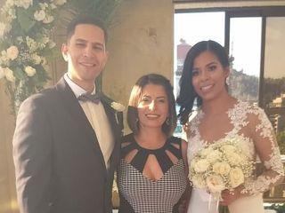 El matrimonio de Ángel David  y Roxany  2