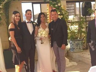 El matrimonio de Ángel David  y Roxany  3