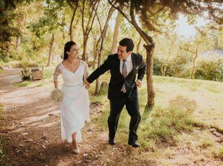 El matrimonio de Belén y Luis