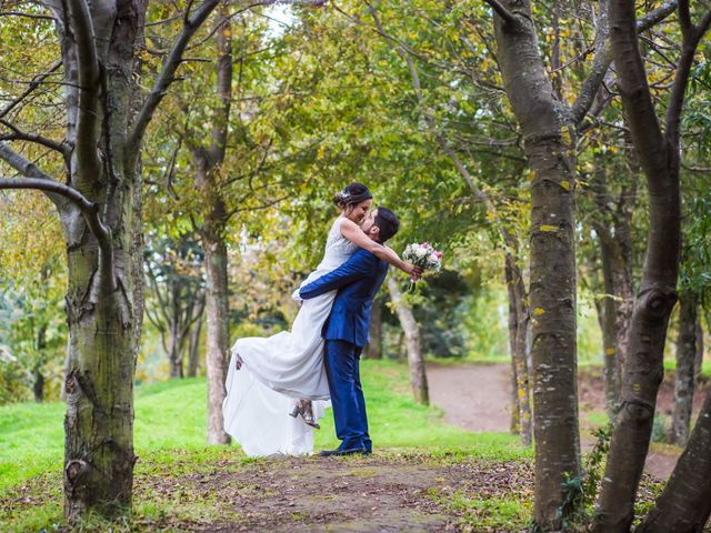 El matrimonio de Claudia y Franco
