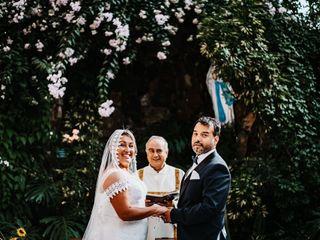 El matrimonio de Carol y Claudio