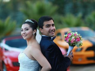 El matrimonio de César y Andrea