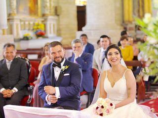 El matrimonio de Vallery y Sebastián