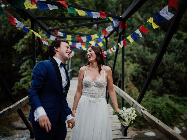 El matrimonio de Cata y Felipe
