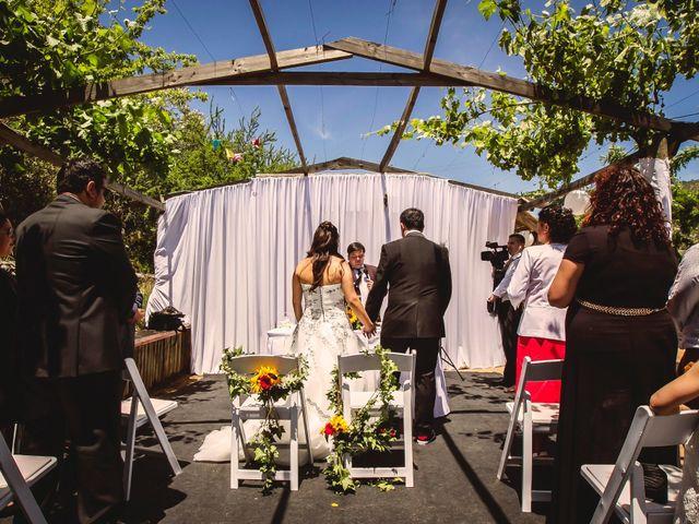El matrimonio de Jair y Tiare en Melipilla, Melipilla 28
