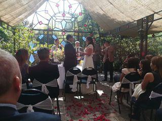 El matrimonio de Lore y Gabriel