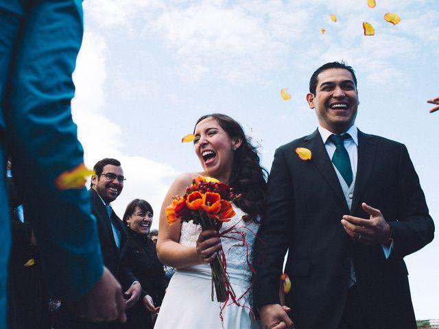 El matrimonio de Pamela y Sergio
