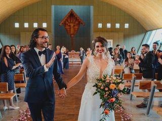 El matrimonio de Ricardo y María Fernanda