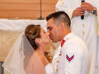 El matrimonio de Marjorie y Bayron