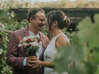 El matrimonio de Nury  y Hernán  1