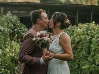 El matrimonio de Nury  y Hernán