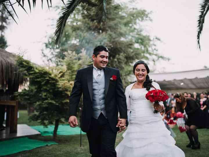 El matrimonio de Daniela y Miguel