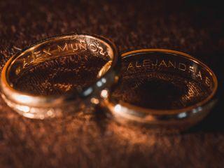 El matrimonio de Alejandra y Alex  1