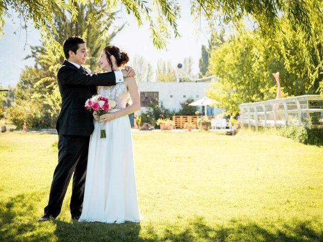 El matrimonio de Yasna y Oscar