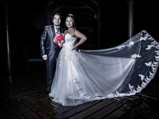El matrimonio de Herty y César