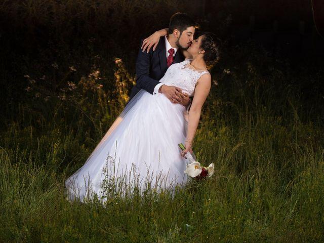 El matrimonio de Daniela y Marcelo