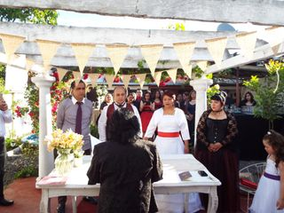 El matrimonio de Gloria  y Alberto 2