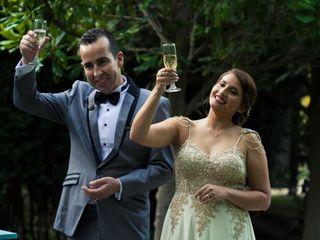 El matrimonio de Romina y Boric