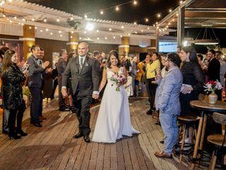 El matrimonio de Daniel y Paulina