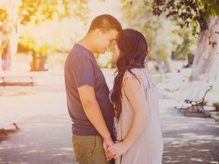 El matrimonio de Rachel y Adonay 1