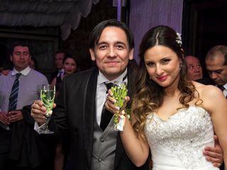 El matrimonio de Loredana y Cristhian