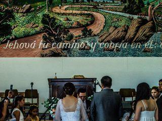 El matrimonio de Camila y Lucién 1