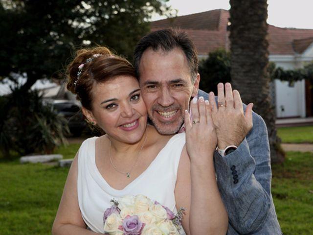 El matrimonio de Scarlet y Gonzalo