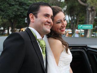 El matrimonio de Elizabeth  y Juan Pedro 1