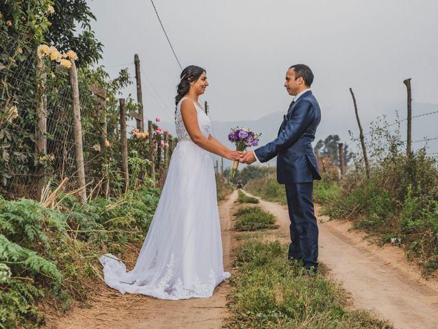 El matrimonio de Mariana y Cristóbal