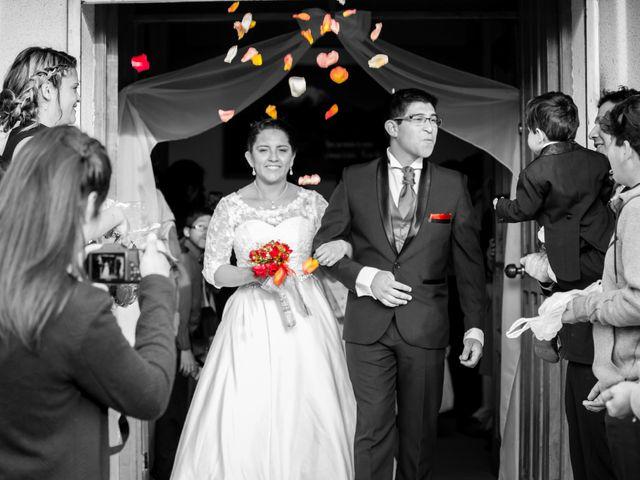 El matrimonio de Ruth y Erick