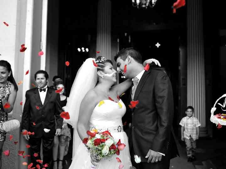 El matrimonio de Mélissa y Ismaël