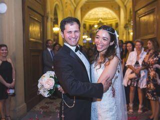 El matrimonio de Evelyn  y Patricio