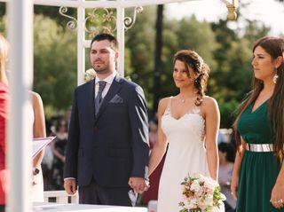 El matrimonio de Leti y Camo
