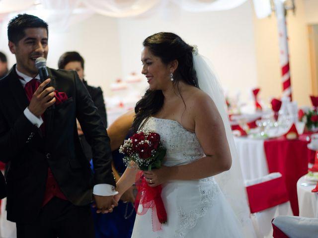 El matrimonio de Makarena y Leandro