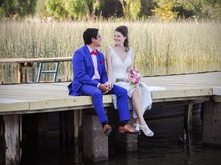 El matrimonio de Roberto y Anne-Sophie