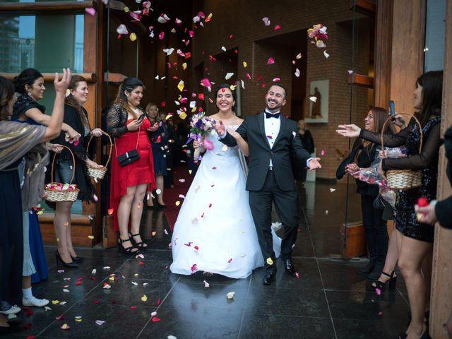 El matrimonio de Jocelyn y Julio