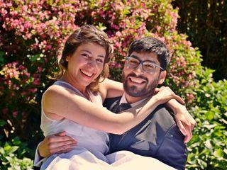 El matrimonio de Pamela y Fabrizio