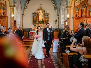 El matrimonio de Alisón y Germán