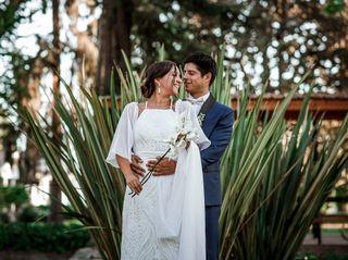 El matrimonio de Rodrigo y Paula