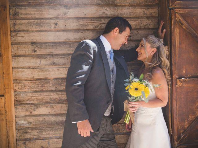 El matrimonio de Georgina y Rodrigo