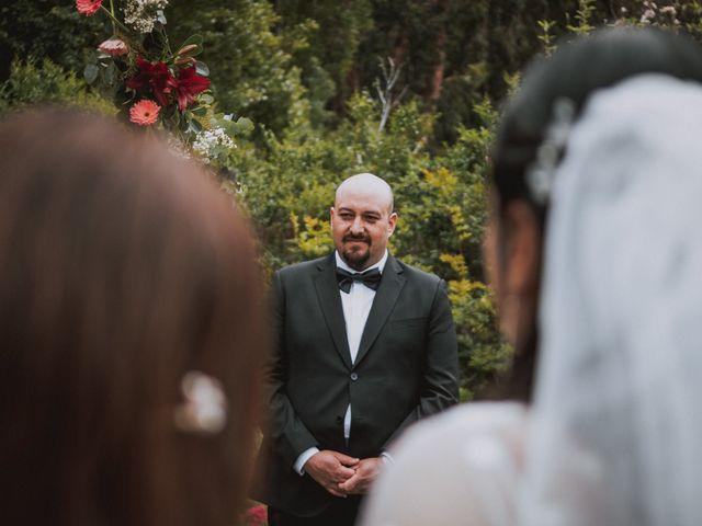 El matrimonio de Pablo y Rosa en San José de Maipo, Cordillera 8