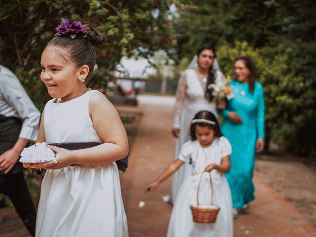 El matrimonio de Pablo y Rosa en San José de Maipo, Cordillera 9