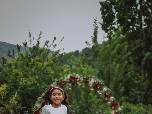 El matrimonio de Pablo y Rosa en San José de Maipo, Cordillera 12