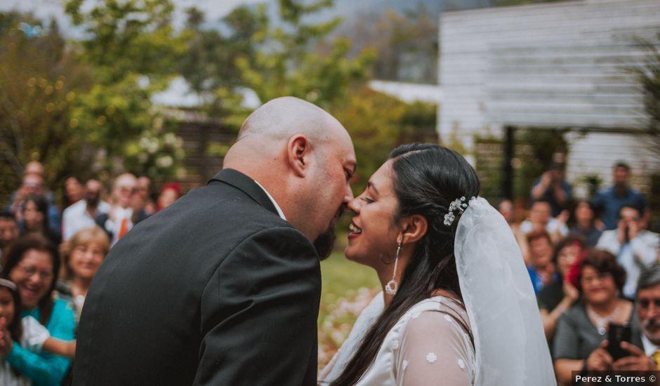 El matrimonio de Pablo y Rosa en San José de Maipo, Cordillera