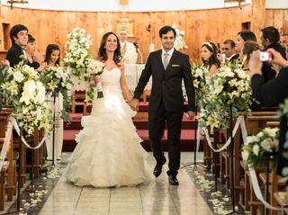El matrimonio de Fedora y Rodrigo