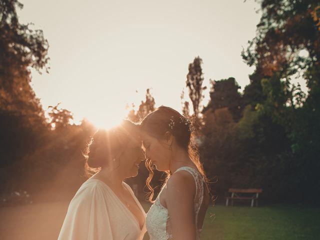 El matrimonio de Paula y Magdalena